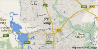 tonggi map