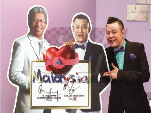 Misi baharu Pak Nil sebagai Ikon Cinta Malaysia, info, terkini, hiburan, sensasi, Pak Nil, aznil