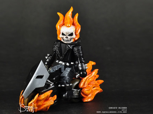 Ghost Rider with Bike Minimate