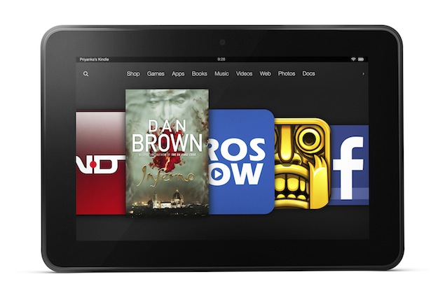 Amazon's Kindle Fire HD Tablet spot in Benchmark Results