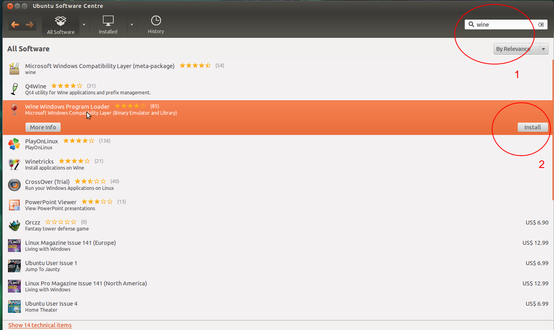 Zo installeer je het windows belasting programma in ubuntu 12 04