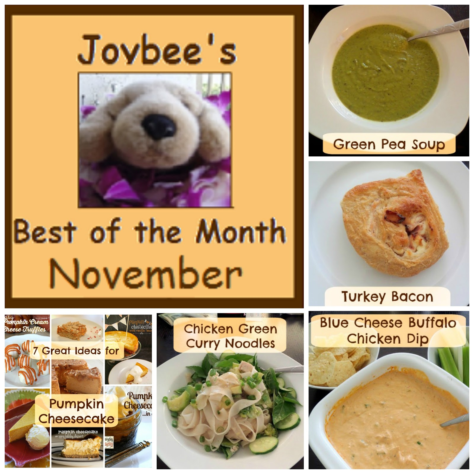 Best of the Month November 2014:  A recap of my most popular posts from November 2014.