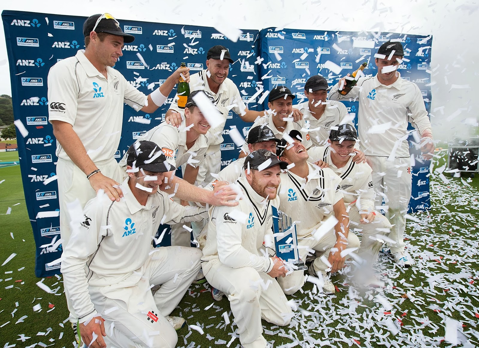 Basin Reserve, Brendon McCullum, Captain, Century, Cricket, History, India Tour New Zealand 2014, Match, New Zealand, New Zealand vs India, Sports, Test Series, Triple-centurion, Trophy, Wellington, Winner,
