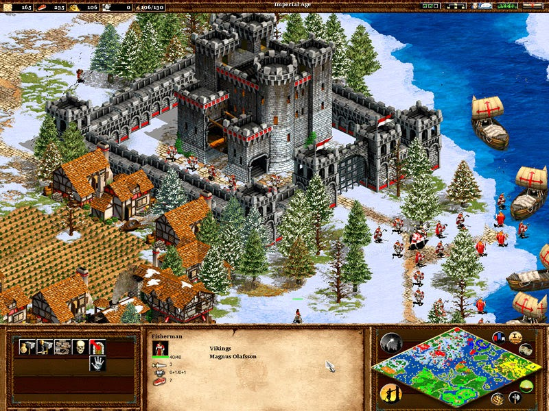 Free Download Game Strategi Age Of Empire 2 Full Version - PC - Syauqi97