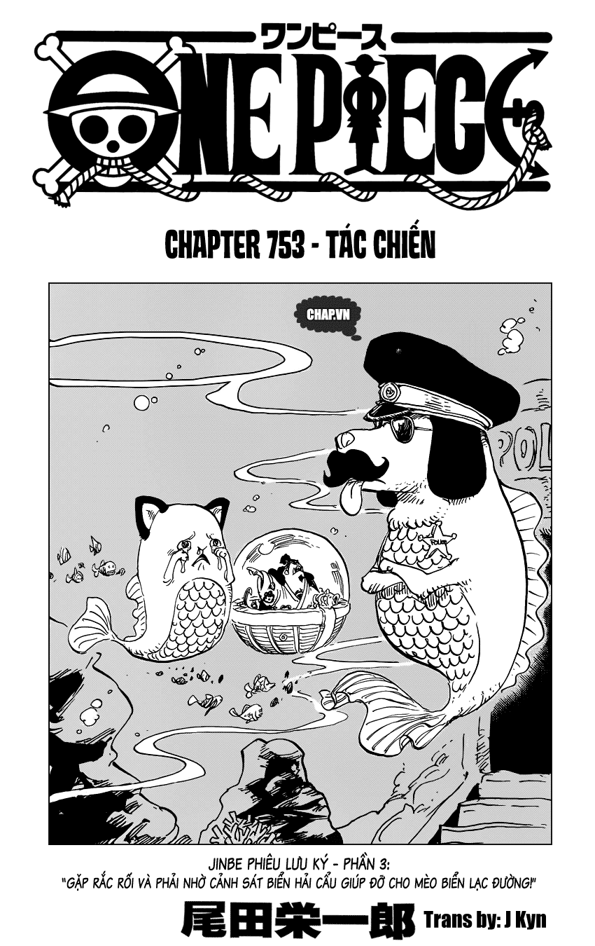 One Piece Chapter 753: Tác chiến 001