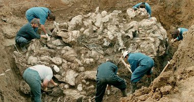 اخبار العرب اليوم, الجمعة 29 يناير 2016, العراق تكتشف مقبرة تضم نحو 40 شخصا في الرمادي
