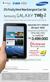 Tablet Galaxy Tab 2 bundling