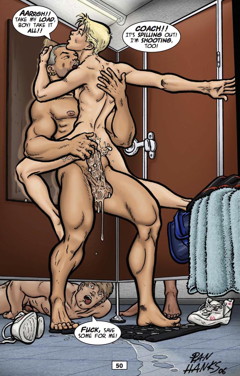 Порно Комиксы Про Геев