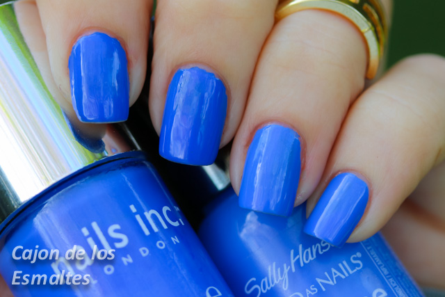Pacific Blue sally hansen dupe baker street nails inc