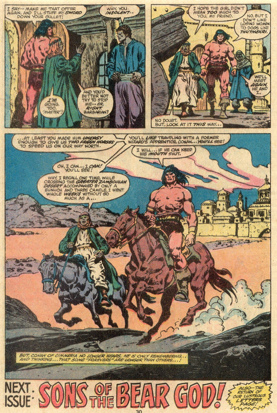Conan the Barbarian (1970) Issue #108 #120 - English 19