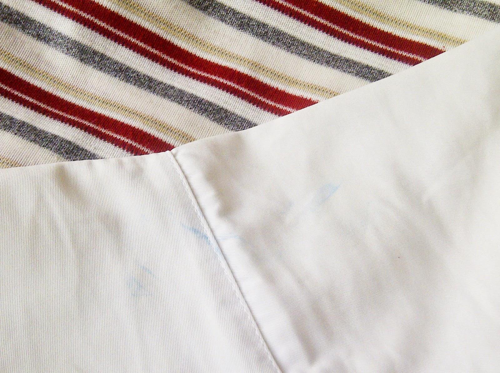 cara menghilangkan noda pakaian