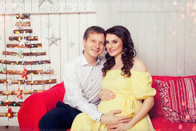 Самое лучшее время - беременность фотосессия