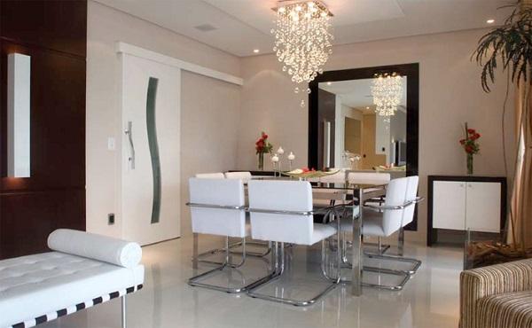 Lustre Moderno Para Sala De Estar ~ arte de decorar Abajur e Lustres para sala de jantar e estar