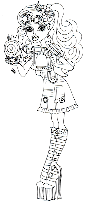 elephant monster high coloring pages - photo#29