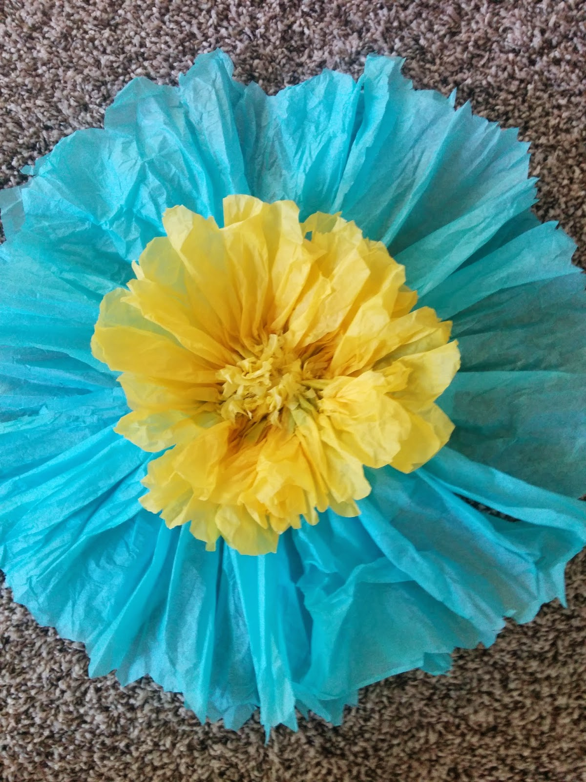 Tits And Bits Tissue Paper Flowers