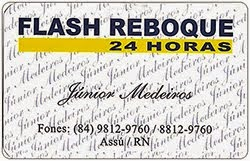 FLASH REBOQUE 24 HORAS