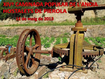 Caminada Popular de l'Anoia als Hostalets de Pierola 2013