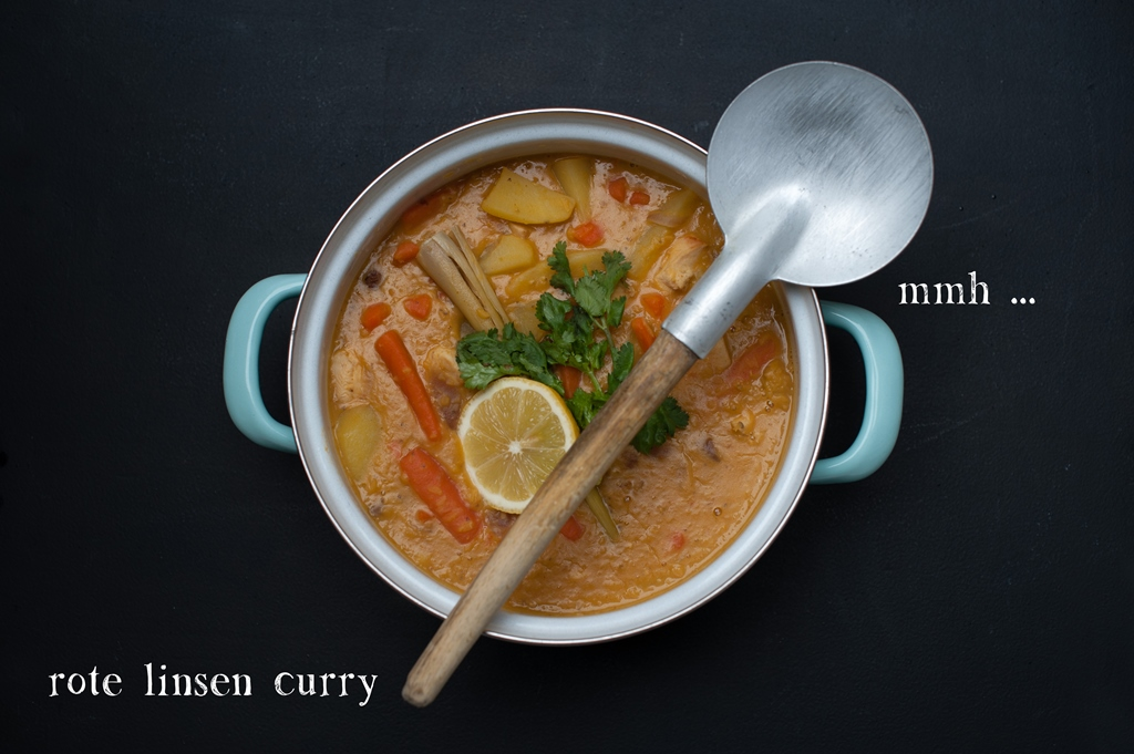 Ooh simple chic mmh rote linsen curry mit rosinen einfallsreich - Rote wohnzimmerwand ...