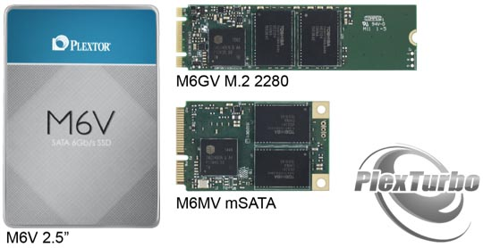 Plextor - PlexTurbo and M6V series SSDs
