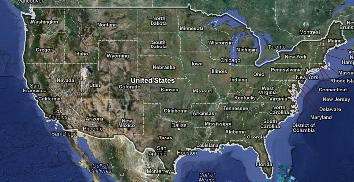 USA Map Google R sultats dAOL Image Search – Usa Map Google