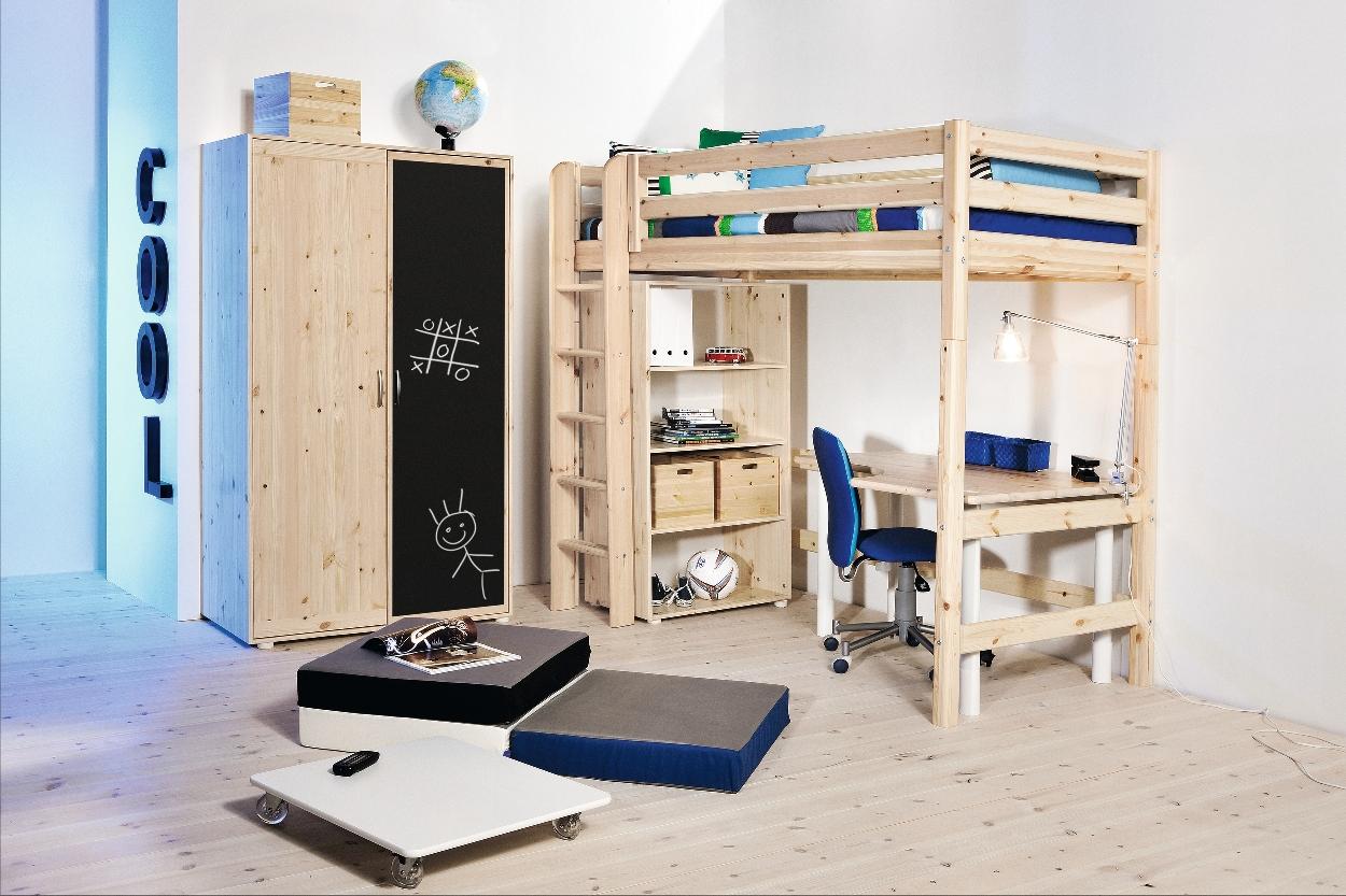 Flexa camas individuales y en altura for Camas en altura juveniles