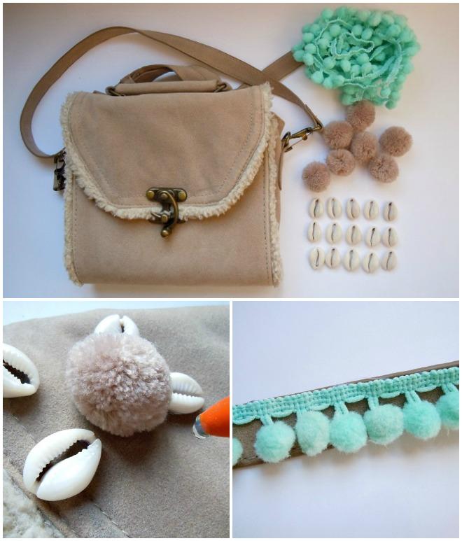 shell-bag-pompons-summer-diy-diyearte-tory-burch-handmade-bolso-conchas-pompones