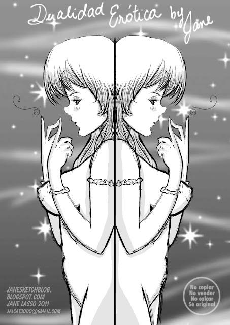 Dibujo erotico hecho en  manga studio 4