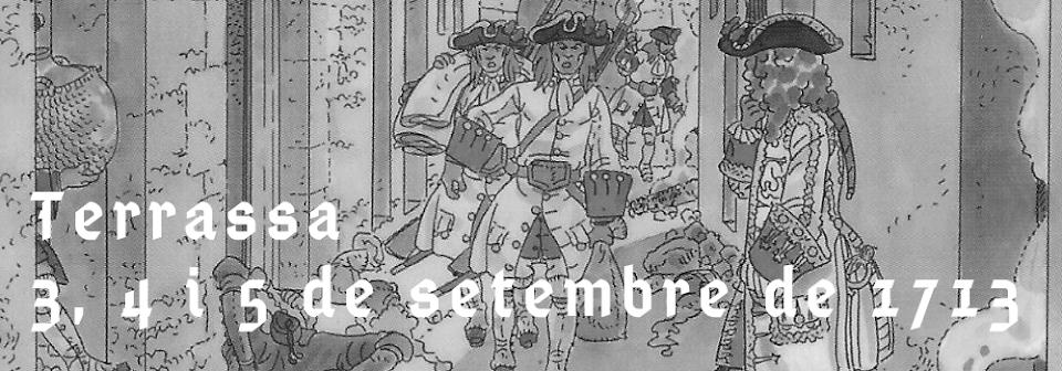 Comissió pel 4 de setembre de 1713 a Terrassa