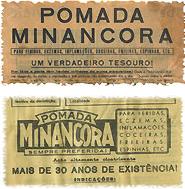Propaganda antiga da Pomada Minâncora.