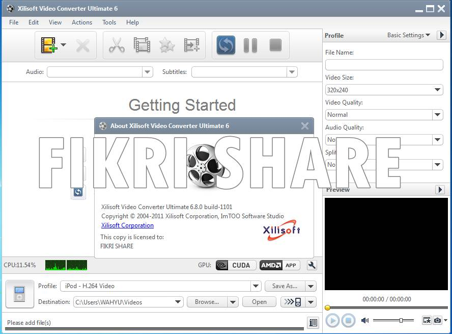 crack xilisoft video converter ultimate 6