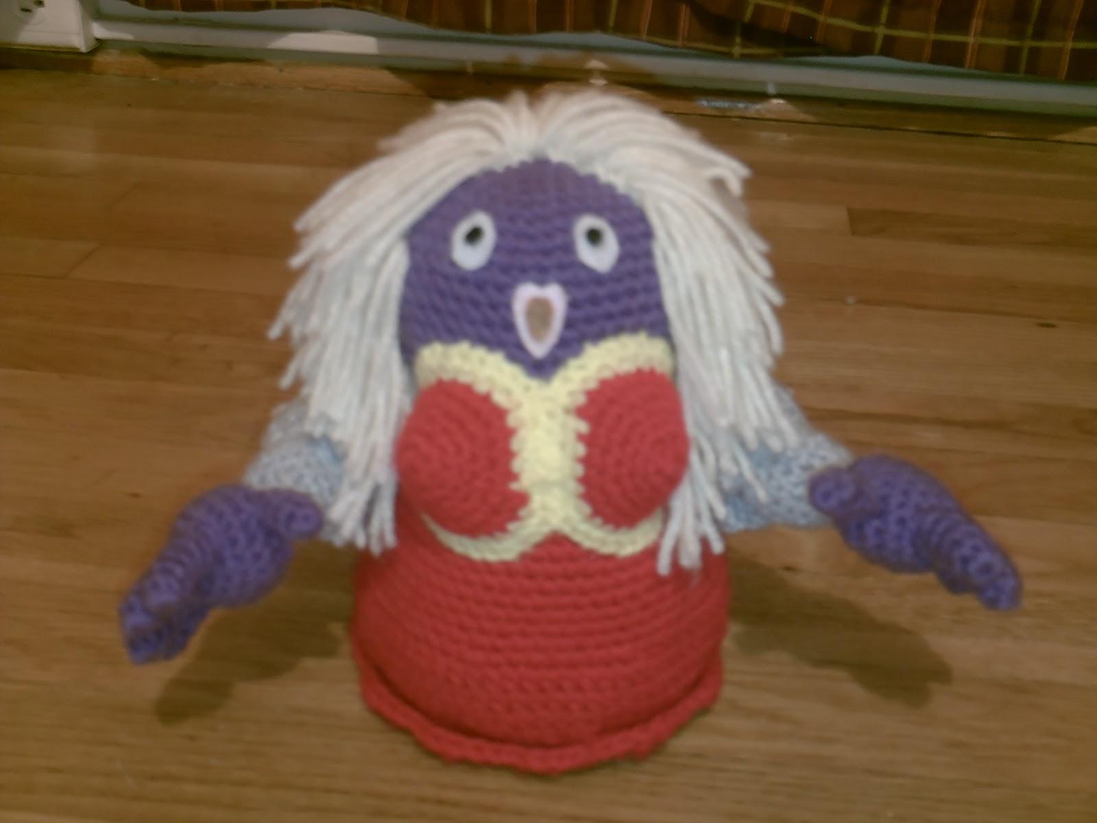 Free Knitted Amigurumi : Amigurumi knitted and crocheted the psychic ice type johto