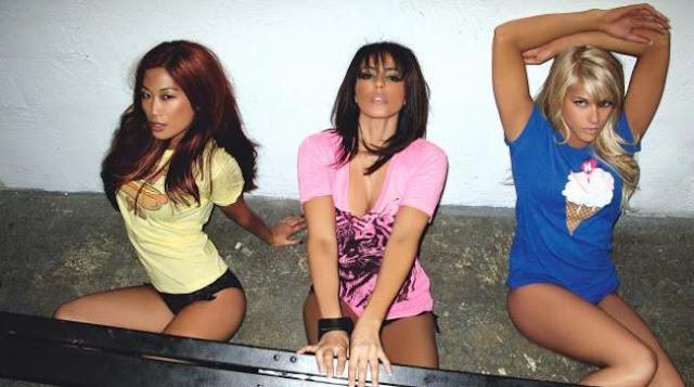 Kelly kelly, barbie blank, layla el, wwe divas, lena yada, ecw vixens, wwe magazine, wwe 2006