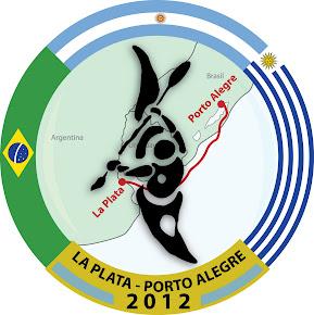 Logo La Plata - Porto Alegre 2012