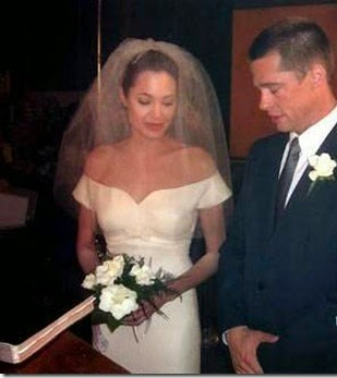 Angelina Jolie and Brad Pitt marriage picture, photo, images, videos