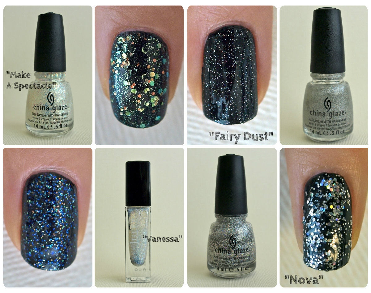 Glitter Polish Swatch and Reviews: \