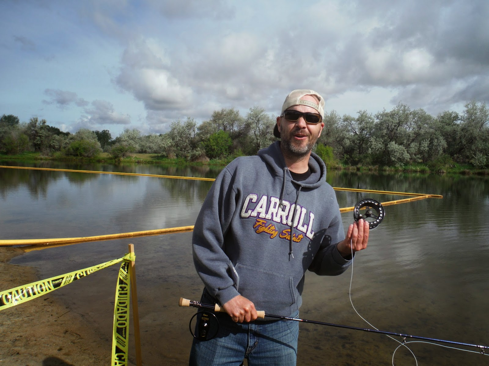 Erik s fly fishing blog trout unlimited casting competition for Fly fishing competitions