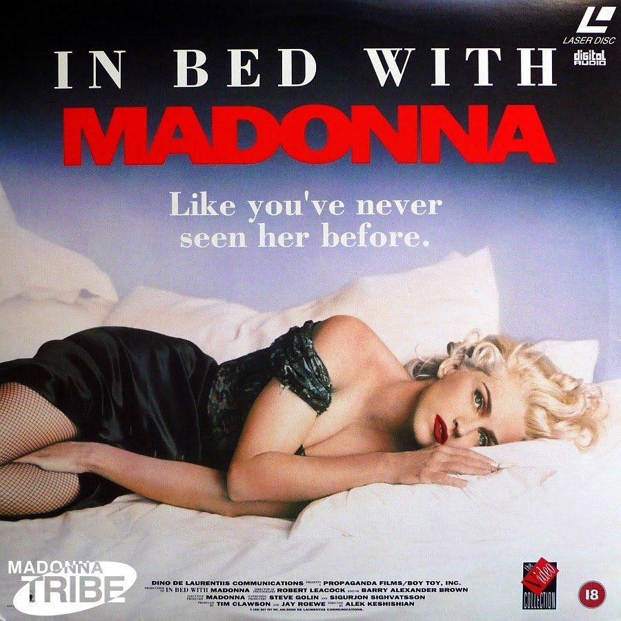 In Bed With Madonna, Madonna, The 90s, 1990s, Funny, Pictures than make you feel old,