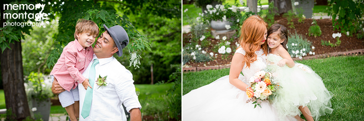 vintage Cascade Garden wedding in Yakima WA by Memory Montage Photography