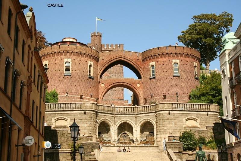 Artistic Castle in Helsingborg, Sweden