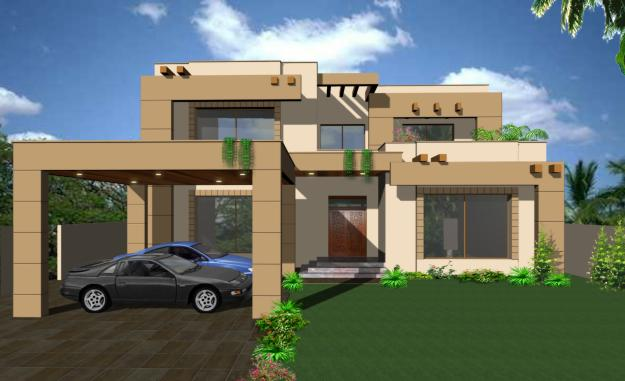 Modern homes exterior designs views. - Home Decoration Ideas