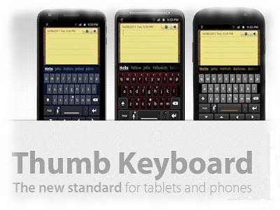 thumb keyboard review