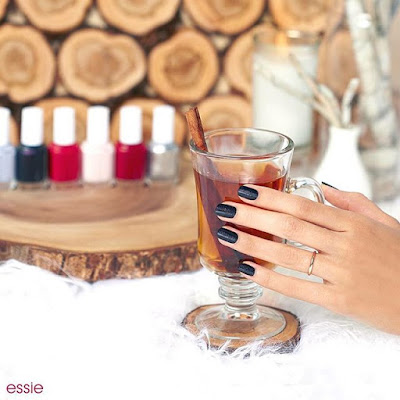 Essie Virgin Snow Winter 2015 Collection, photo edit by @essiepolish
