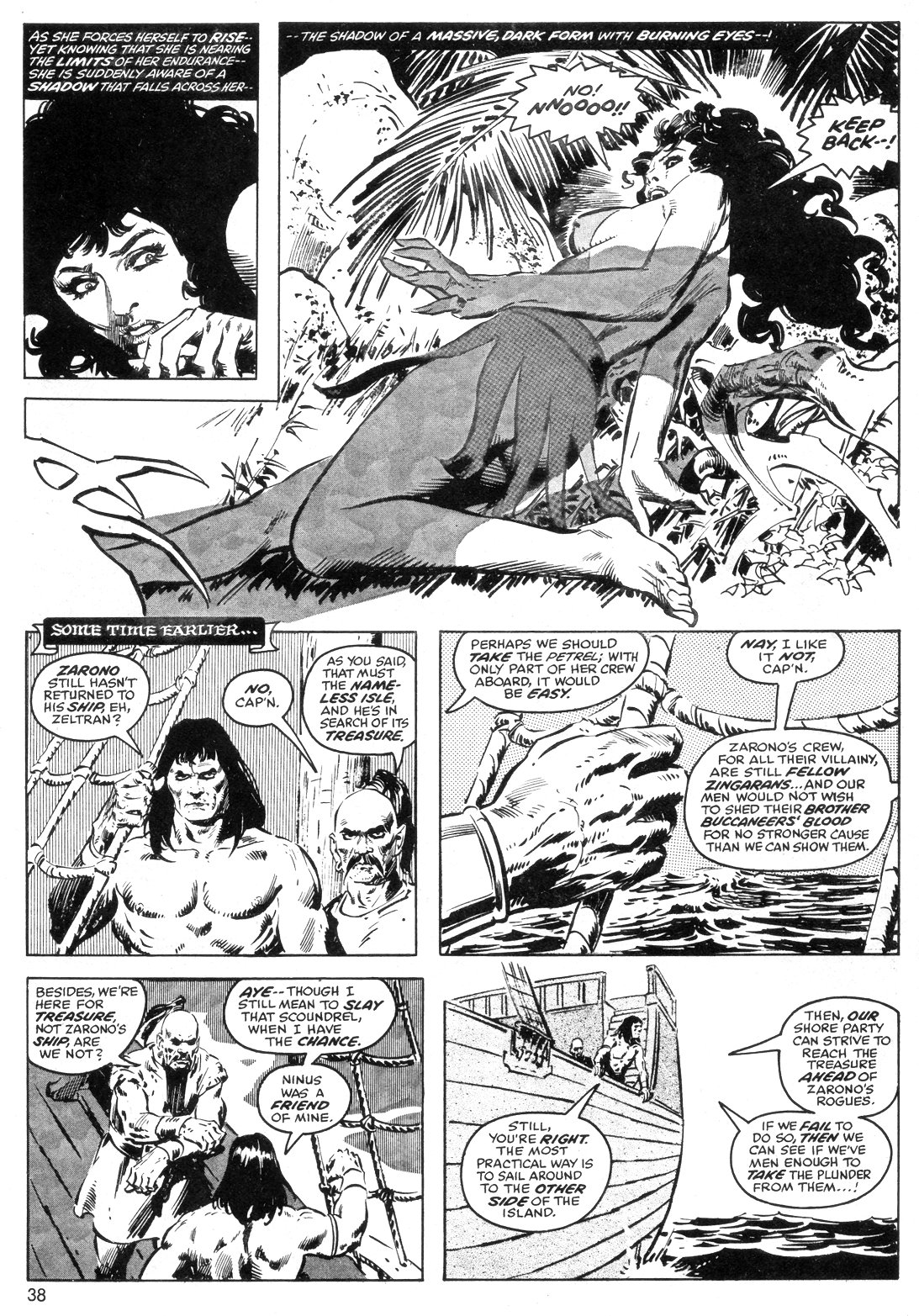 The Savage Sword Of Conan Issue #40 #41 - English 38