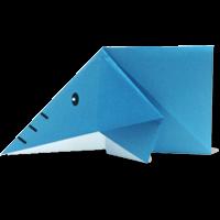Origami Binatang Gajah
