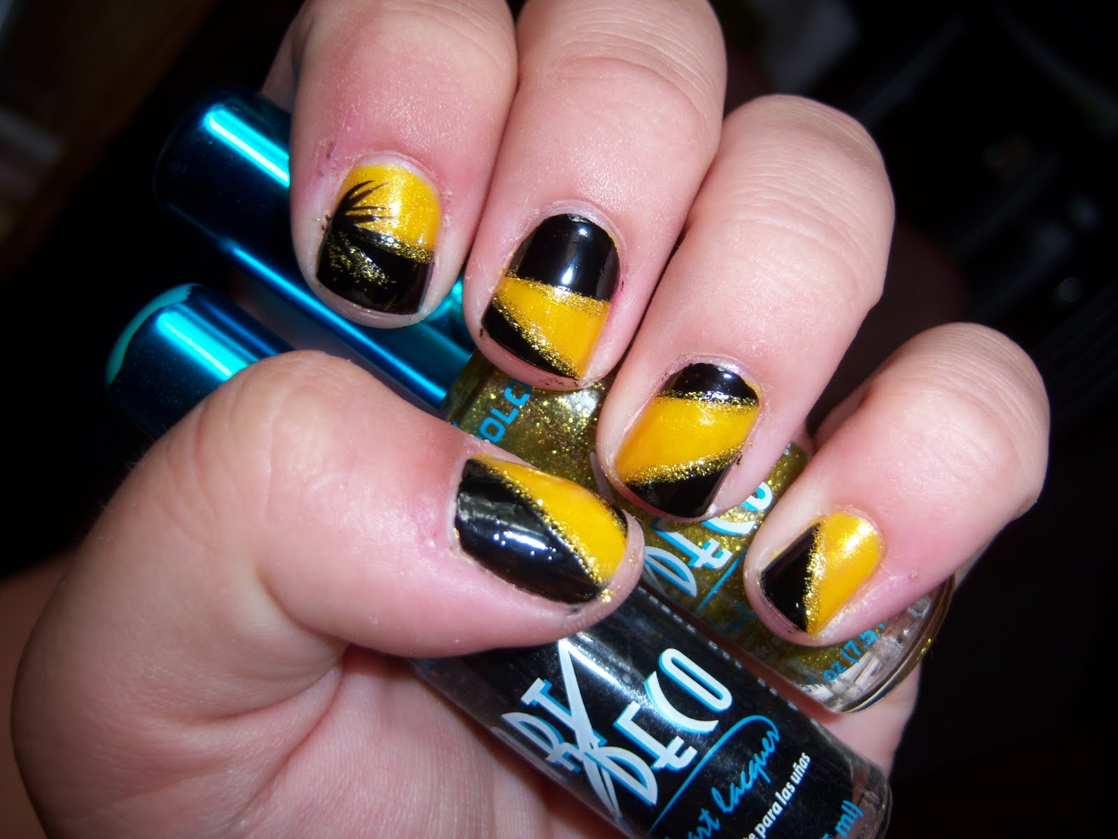 Nice Iowa Hawkeye Nail Designs Mold - Nail Art Ideas - morihati.com
