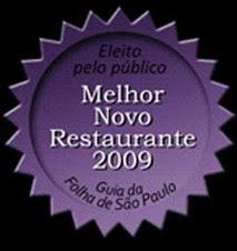 D'olivino - Melhor novo Restaurante 2009