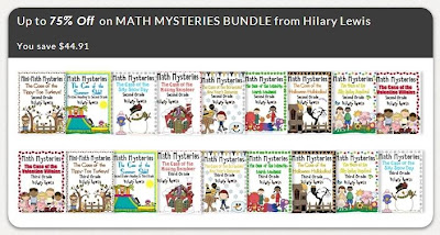 $15 Frenzy from Educents, Math Mysteries