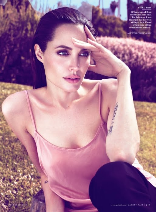 Angelina Jolie for Vanity Fair October 2011