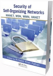 Security of Self Organizing Networks MANET WSN WMN VANET