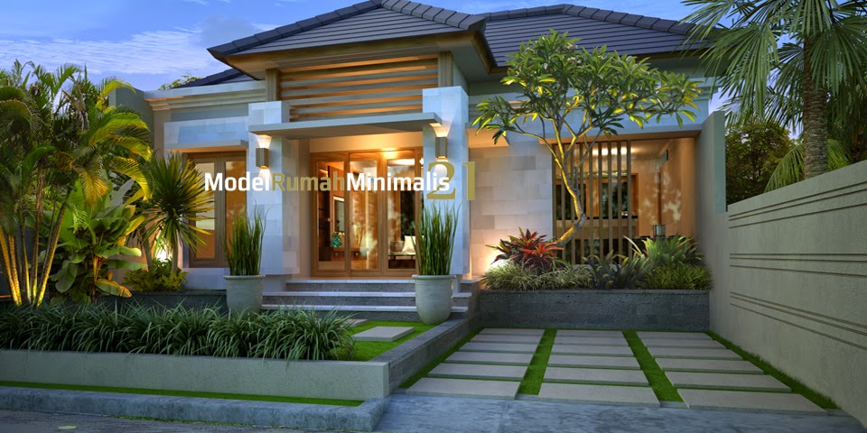 Desain rumah minimalis type 54 home house cottage and for House minimalis